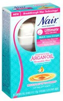 Nair Pro-Strength Roll-On Wax with Moroccan Argan Oil for Legs & Body
