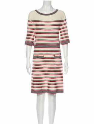 Chanel 2013 Knee-Length Dress Wool