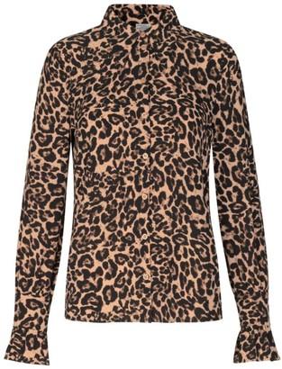 Baum und Pferdgarten Macy Leopard Button-Down Blouse
