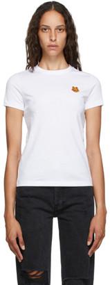 Kenzo White Tiger Crest T-Shirt