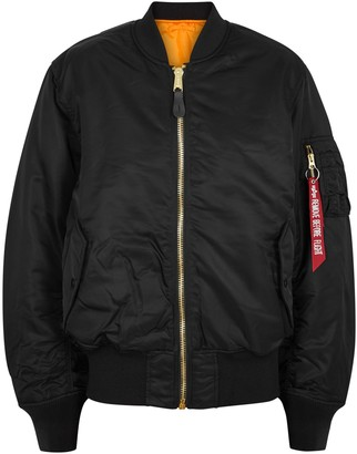 Alpha Industries MA-1 Reversible Shell Bomber Jacket