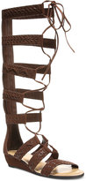 Carlos by Carlos Santana Kingston Tall Lace-Up Gladiator Sandals