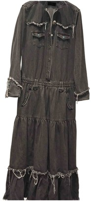 Alanui Grey Denim - Jeans Dresses