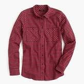 J.Crew Boy shirt in mini buffalo check