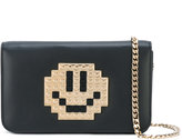 Les Petits Joueurs lego smiley-face crossbody bag - women - Leather - One Size