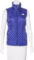 The North Face Quilted Zippered Vest
