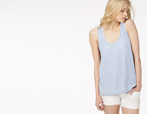 James Perse A-Line Tank