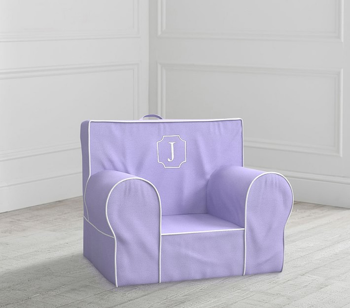 Pottery Barn Kids My First Lavender Anywhere Chair Slipcover Only