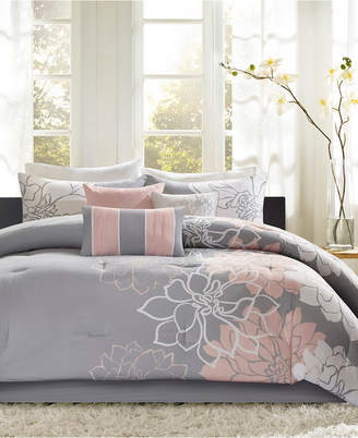 Madison Home USA Lola 6-Pc. King/California King Duvet Cover Set Bedding
