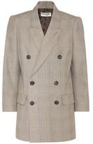 Balenciaga Double-breasted cotton blazer