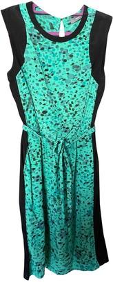 Ohne Titel Green Silk Dress for Women