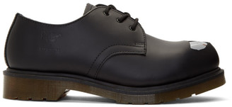 Raf Simons Black Dr. Martens Edition Keaton Raf II Oxfords