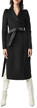 Mackage Eden Double Face Wool Coat