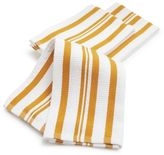 Sur La Table Honey-Striped Dishcloths, Set of 3
