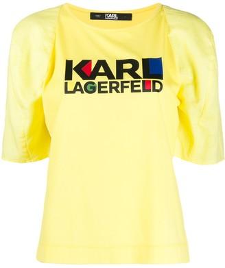 Karl Lagerfeld Paris graphic print T-shirt