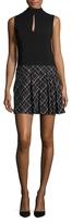 Rachel Zoe Naya Printed Skirt Mini Dress
