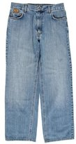 Burberry Cropped Straight-Leg Jeans