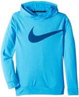 Nike Breathe Training Pullover Hoodie Boy's Sweatshirt