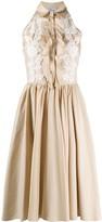 Blumarine Applique Lace Dress