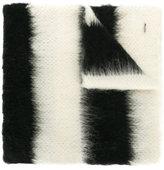 Dondup striped knit scarf