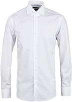 Boss Gregory White Long Sleeved Shirt