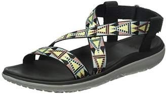Teva Women's Terra-Float Livia Sports and Outdoor Lifestyle Sandal, Mosaic Black Multi, (40 EU)