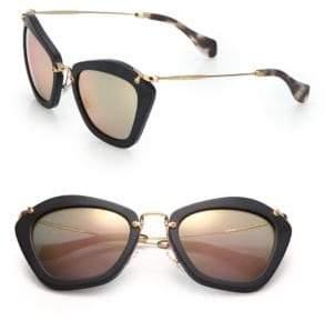 Miu Miu 55MM Modified Cat Eye Sunglasses
