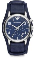 Emporio Armani Round Stainless Steel Watch