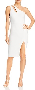 LIKELY Lisette One-Shoulder Cutout Dress