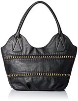 Del Mano Hobo with Woven Chain Detail Shoulder Bag