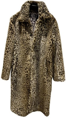 Giambattista Valli X H&m Camel Faux fur Coat for Women