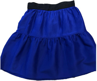 Roksanda Ilincic Blue Silk Skirts
