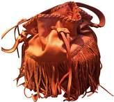 Polo Ralph Lauren Orange Leather Handbags