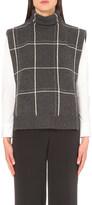 Brunello Cucinelli Checked cashmere turtleneck jumper