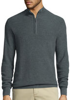Claiborne Long-Sleeve Thermolite Quarter-Zip Sweater