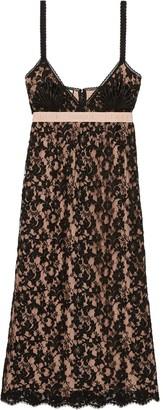 Gucci Slip Midi Dress