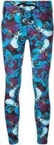 The Upside floral cropped leggings - women - Nylon/Spandex/Elastane - XXS