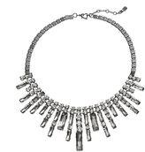 JLO by Jennifer Lopez simulated crystal bib statement necklace