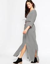 Maison Scotch Kimono Inspired Maxi Dress