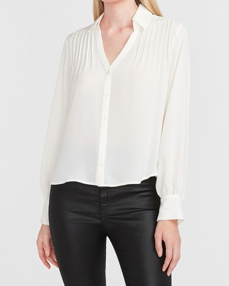 Express Pleated Portofino Shirt