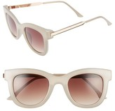 BP Women's Adele 50Mm Sunglasses - Clear