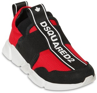 DSQUARED2 Slip-on Sneakers W/ Elastic Bands