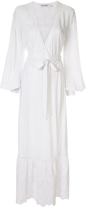 The Upside Kate broderie wrap dress