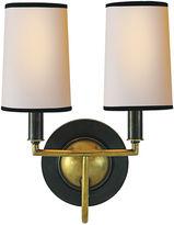 Visual Comfort & Co. Elkins Double Sconce, Bronze