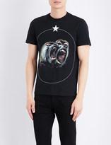 Givenchy Twin Monkey cotton-jersey T-shirt