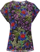 Whistles Floris Print Silk Top