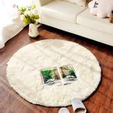 ONEONEY Round Shaggy Area Rugs and Carpet Super Soft Bedroom Carpet Rug for Kids Play