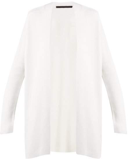 Haider Ackermann Stormont Wool Blend Cardigan - Womens - Cream
