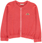 Hundred Pieces Rainbow Towelling Sweatshirt with Zip
