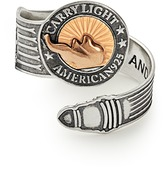 Alex and Ani LIBERTY COPPER | CARRY LIGHTTM 14kt Gold Center Spoon Ring